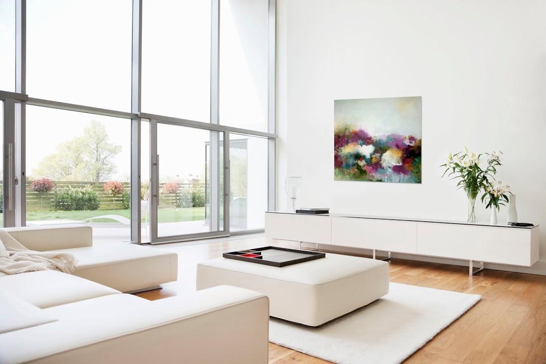 white-modern-living