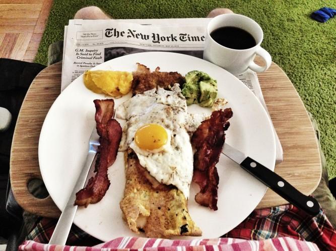 Bradley's breakfast