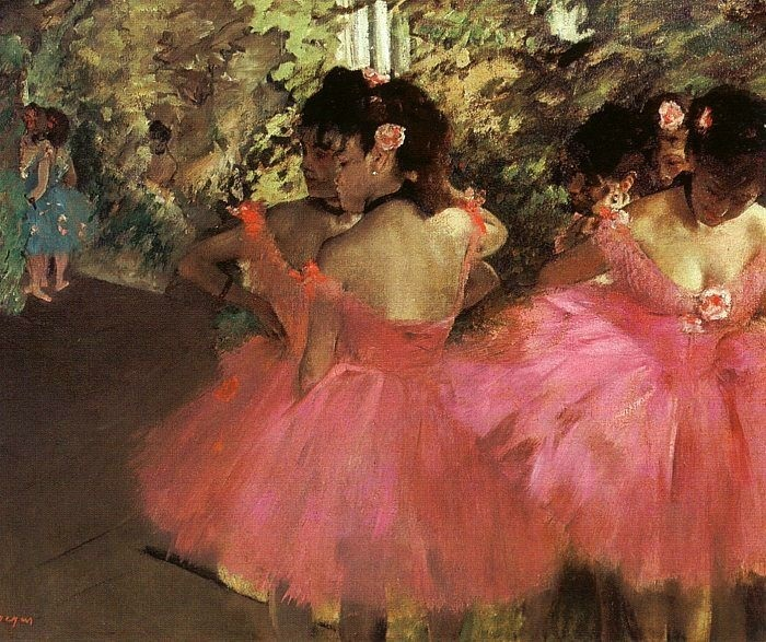 Degas_Dancers_in_Pink_1880