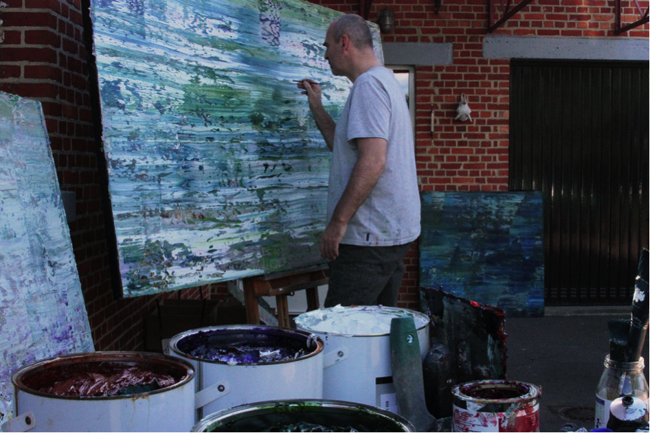 Outdoor session on large abstracts