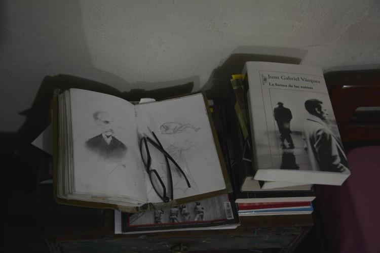 Saatchi Art sketchbook Jesùs Leguizamo