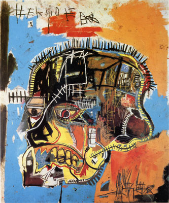 Basquiat Birthday Acrylic Painting Abstract Modern