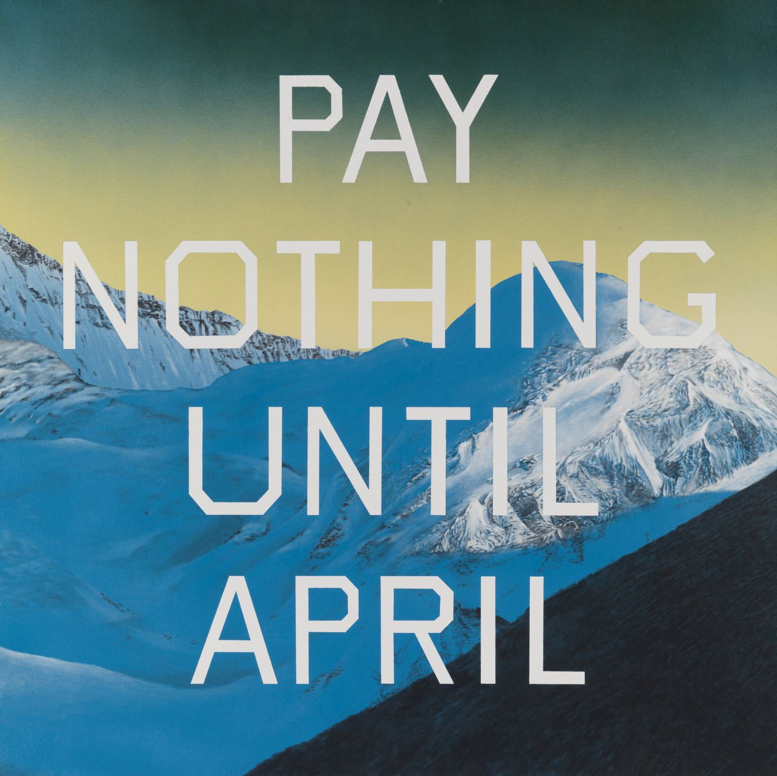 Saatchi Art's collection of Ed Ruscha Inspired works draws inspiration from his iconic style