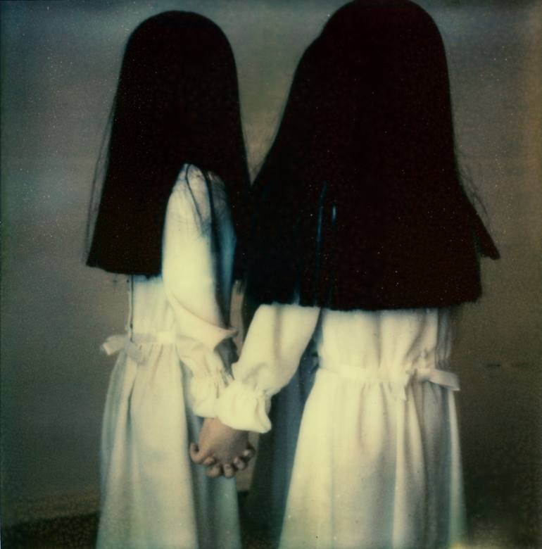 saatchi art florian mueller's surreal photography features two twin girls