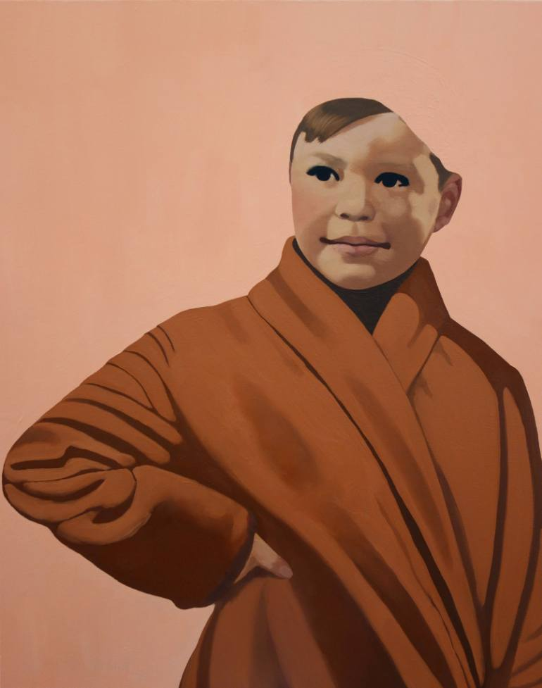 saatchi art artist tracy kerdman's portraits explore gender binaries