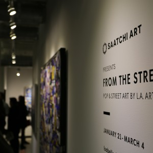 From the Street Opening Night Saatchi Art