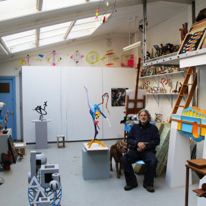Saatchi Art Frans Muhren in the Studio