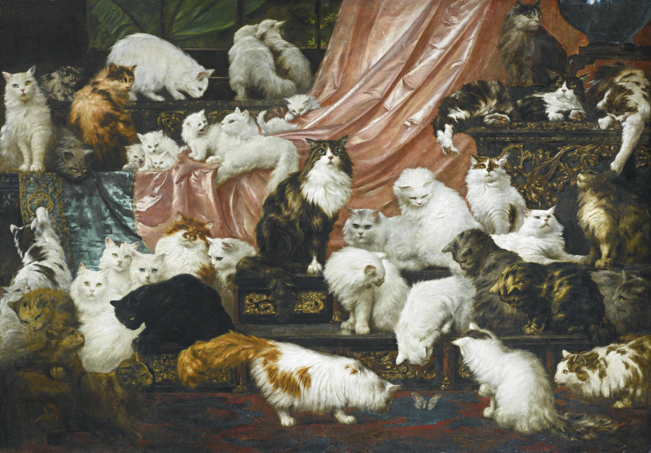 see the world's largest cat painting