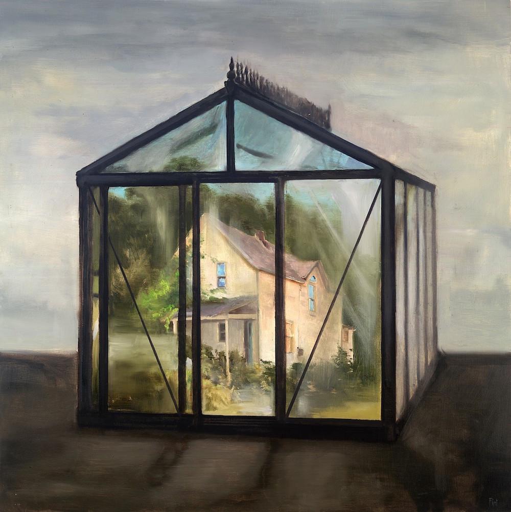 joshua-flint-paints-faded-memories-expressionist-art