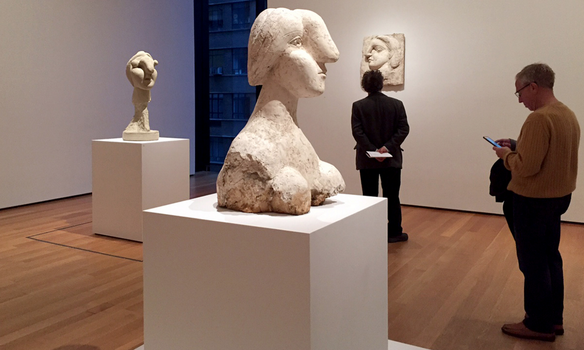 picasso's sought after bust of a woman appears to have two owners