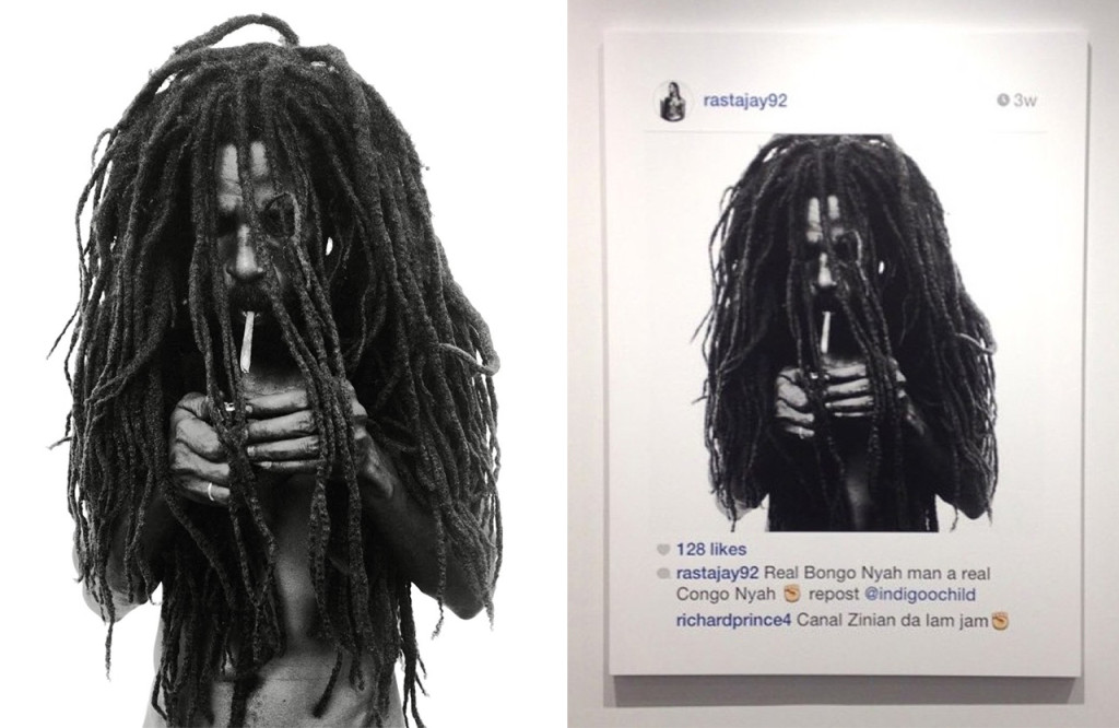 artist richard prince faces legal troubles for his instagram exhibition