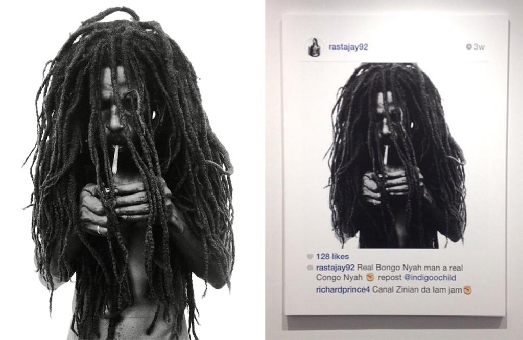 artist richard prince faces legal troubles for his instagram exhibition