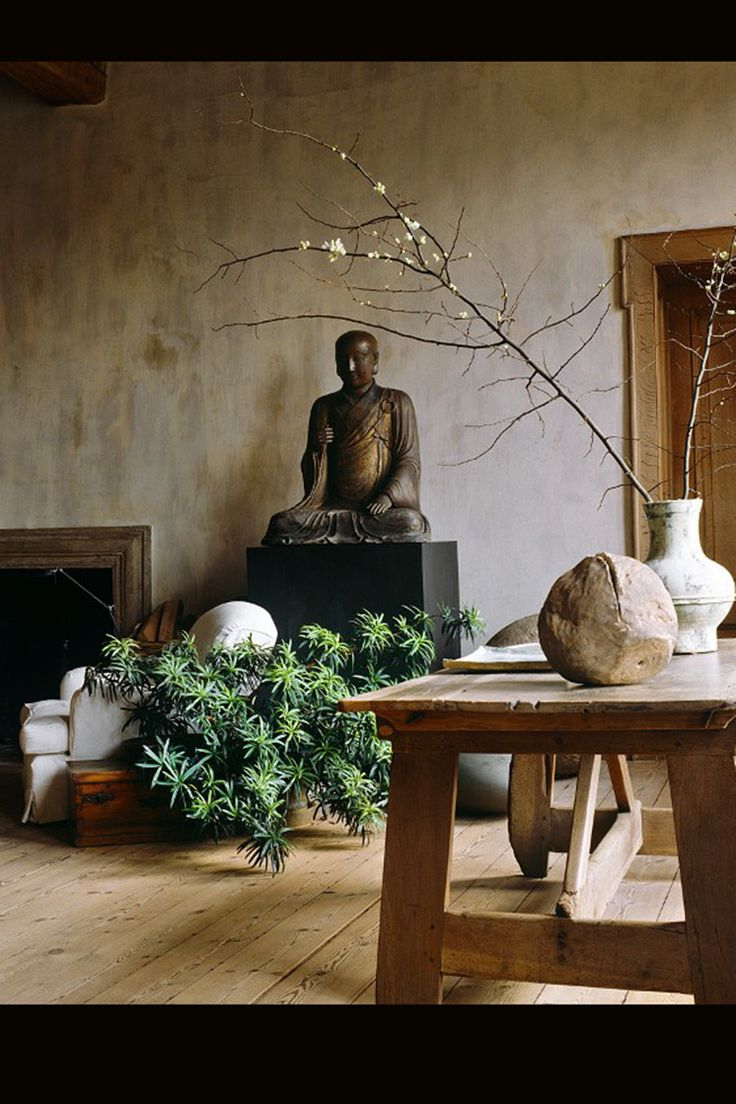 Get zen 7 ideas for creating a more tranquil home this for Tranquil living room