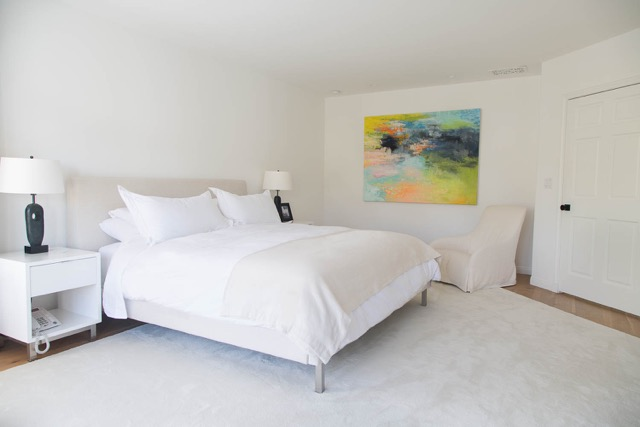 Julie Lee's home in Santa Monica is a perfect example of bedroom Feng Shui
