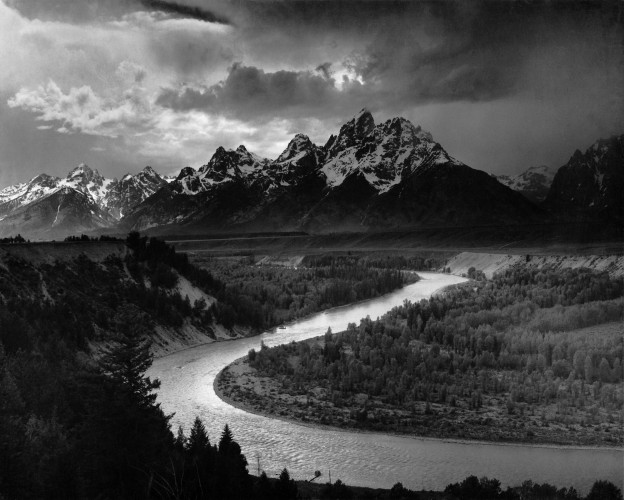 ansel adams' moody landscapes heightened landscape photography during his lifetime