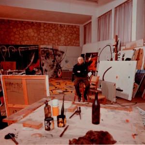 joan miro's 1976 studio