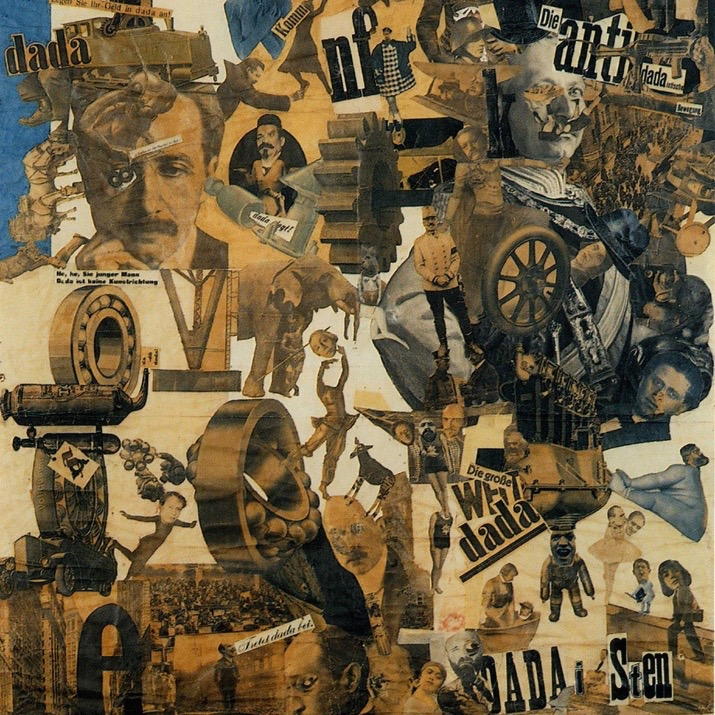 hannah hoch's 1919 collage is central to the dada movement