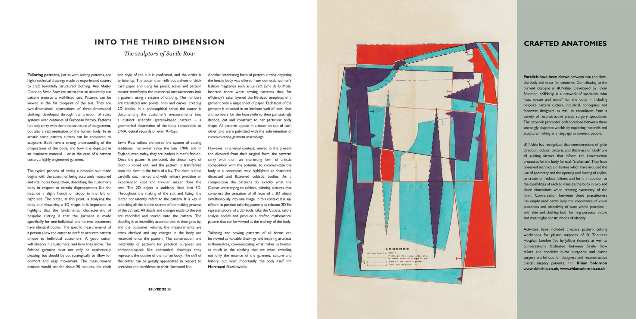 artist hormazd narielwalla on the life and nature of tailoring patterns