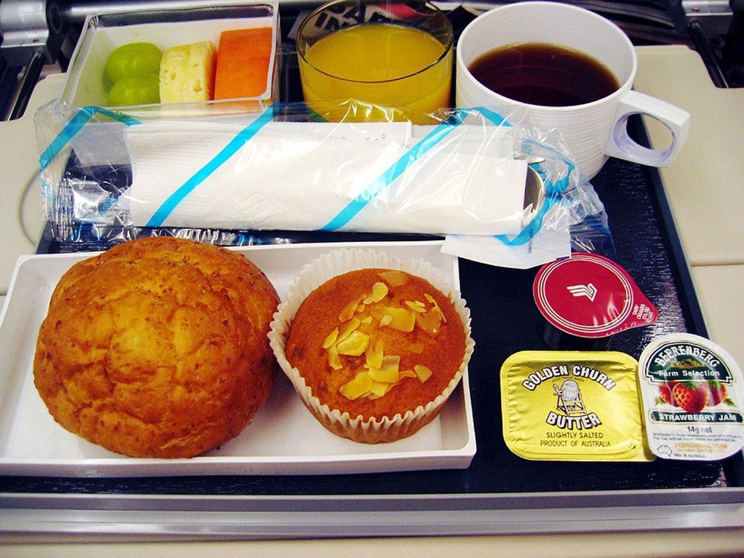 photographer documents the unsuspecting beauty of airline meals