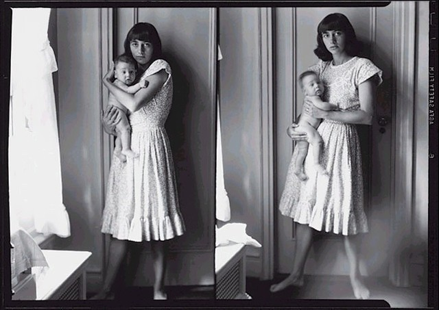 diane arbus with her daughter doon