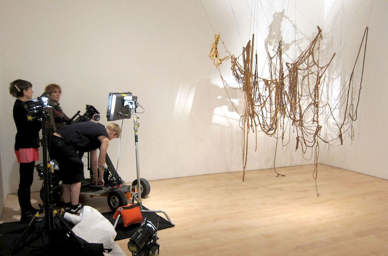 new documentary profiles the life and work on sculptor eva hesse