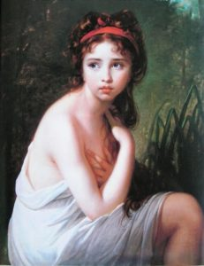 elisabeth louise vigee le brun's portraits meld rococo with neoclassical