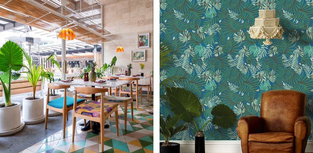 tropical twists for any home decor