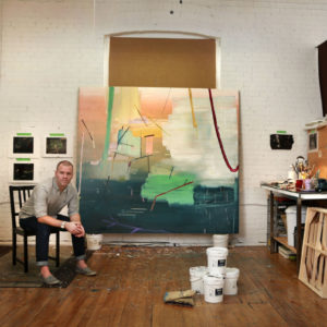TORONTO, ON - FEBRUARY 5  - Artist Scott Everingham poses at his Wade Ave. studio,  February 5, 2016. For Murray Whtye's 'In Studio series'. Andrew Francis Wallace/Toronto Star