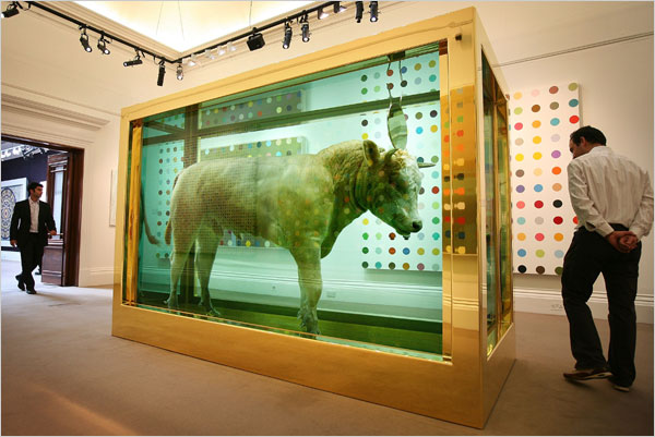 The Golden Calf by Damien Hirst