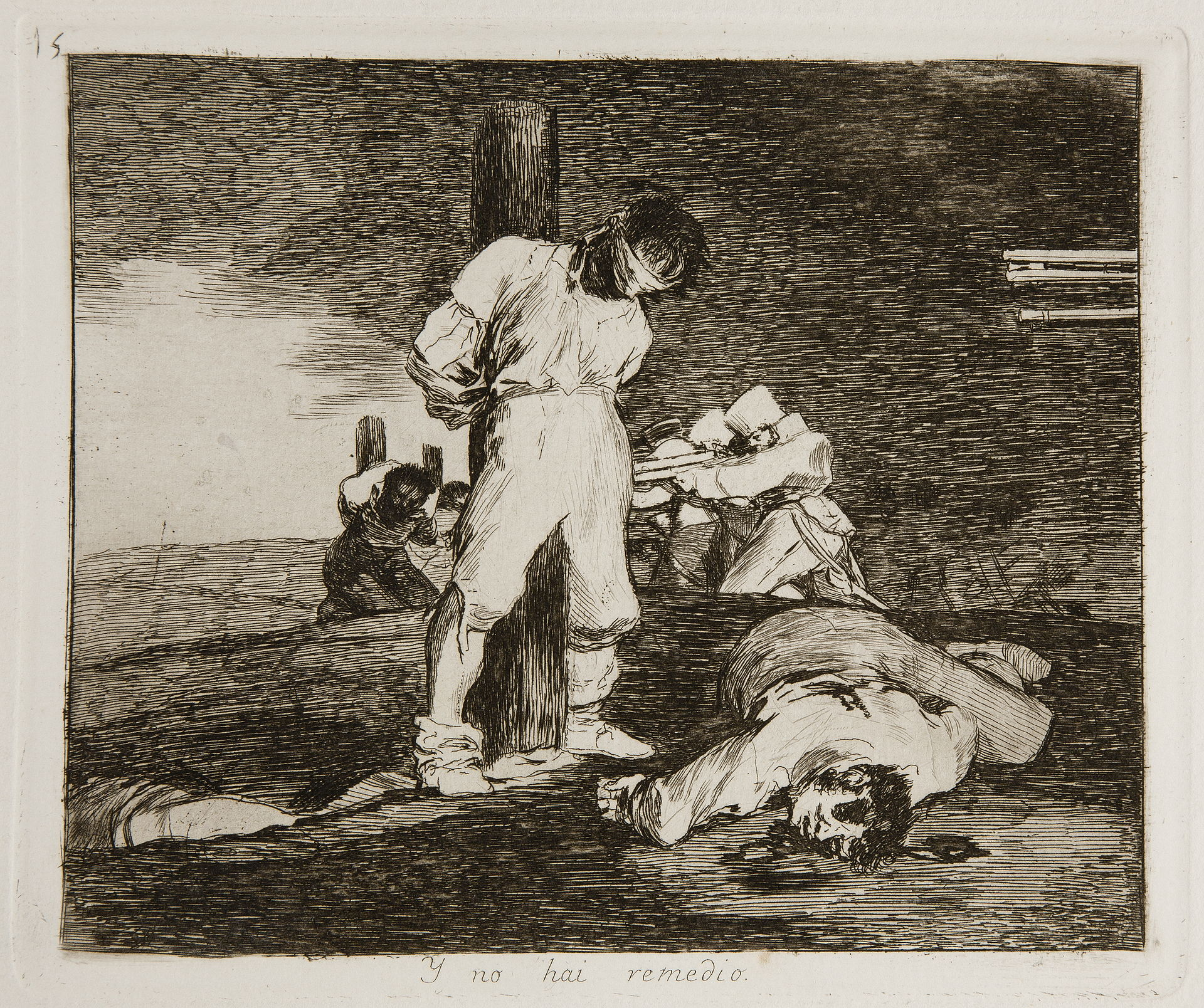 goya's 'the disasters of war' criticized was and the bourbon rebellion