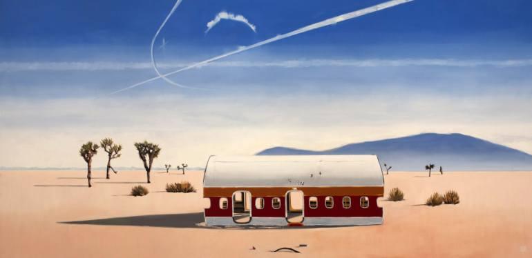 saatchi-art-Lauren-Szabo-mojave-desert-landscape