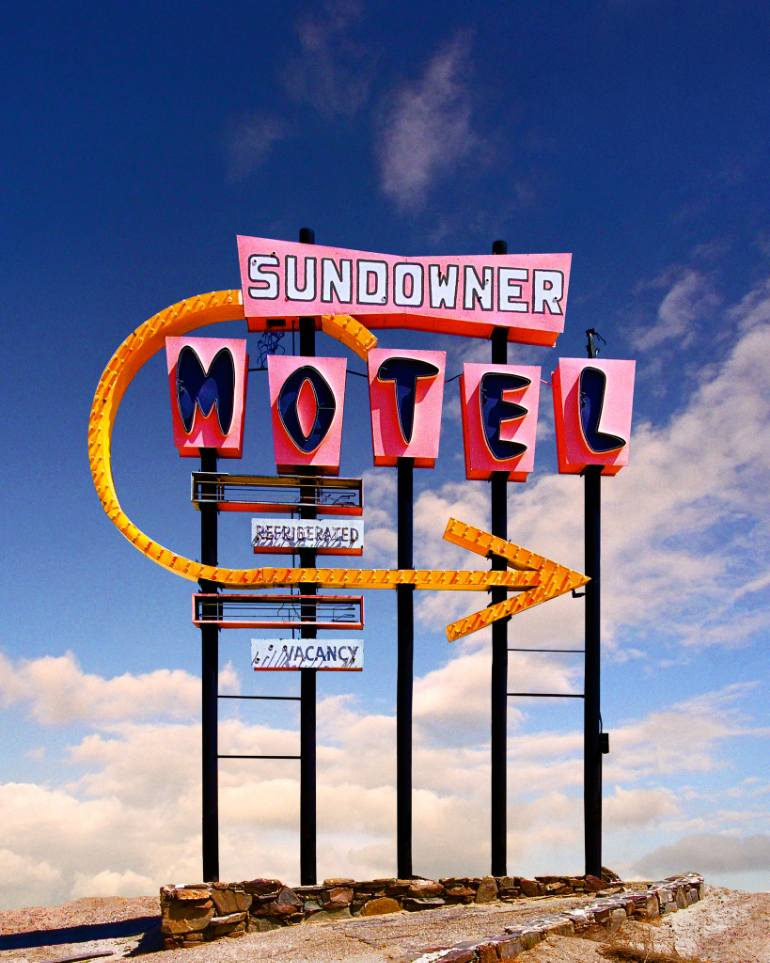 saatchi-art-ed-freeman-motel-sign-desert-art-photography