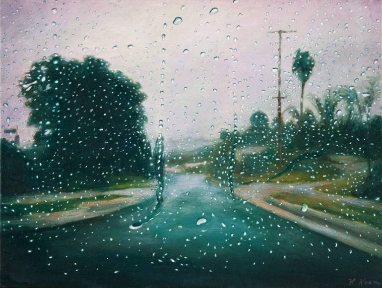 saatchi-art-katherine-kean-rainy-windshield-painting
