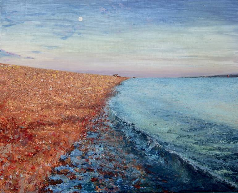 saatchi-art-summer-moon-andrew-lucas-painting