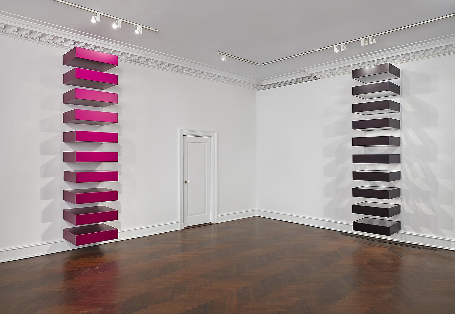 Art history 101 minimalism canvas a blog by saatchi art for Donald judd stack 1972