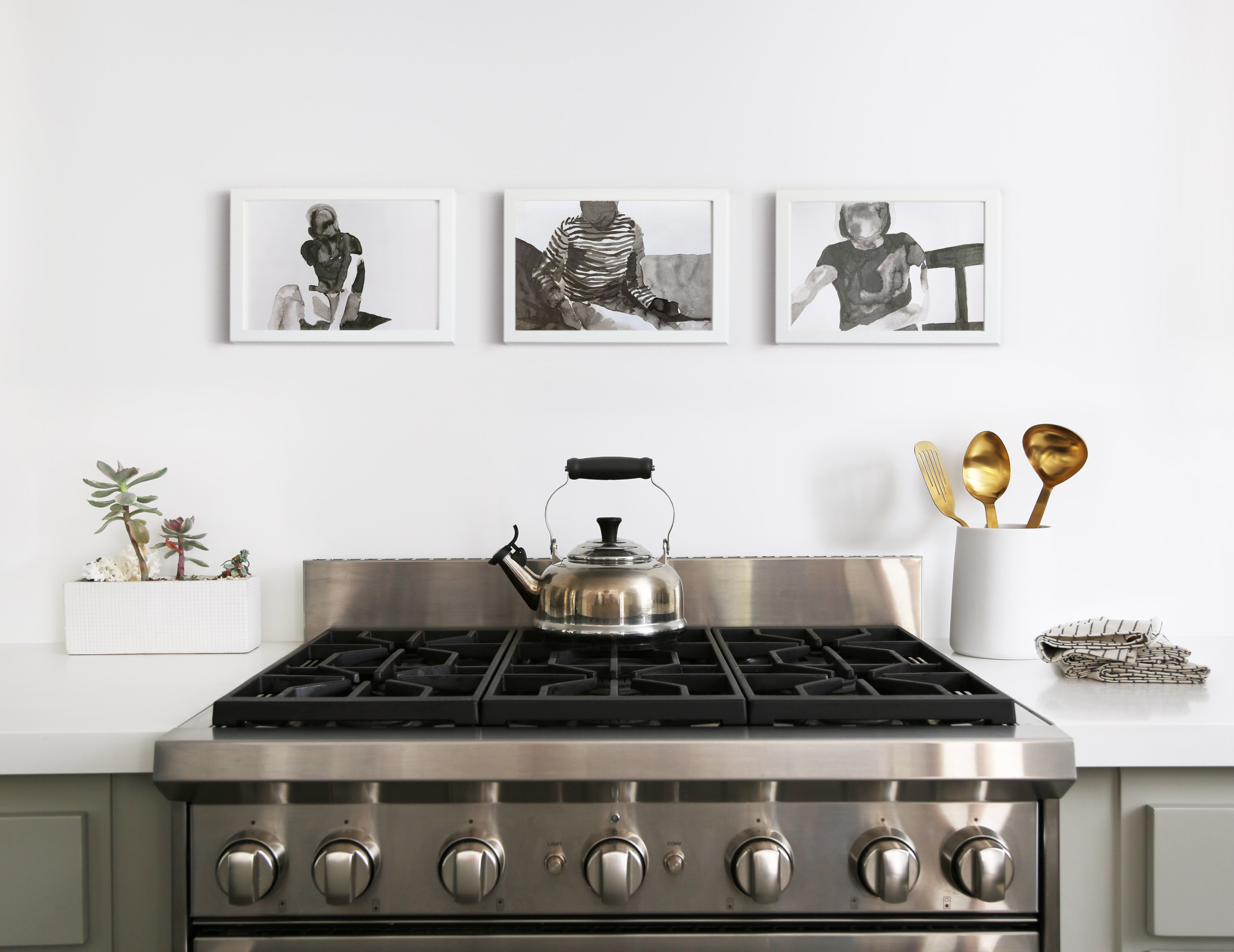 why art for your kitchen is always in good taste, featuring cb2