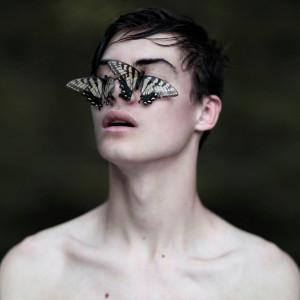 Wide eyes behind  beautiful lies