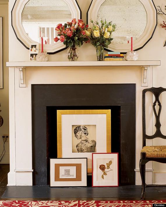 Decorating Inside Fireplace Jerusalem House