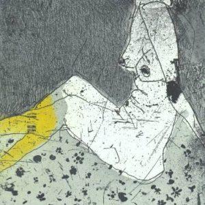 Nude III Marta Wakula-Mac print