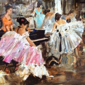In Ballet Class Olga Mukhina