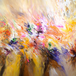 Abstract-contemporary-painting-Color-Breeze-XL-1-Peter-Nottrott-saatchi-art-bright-abstract-painting