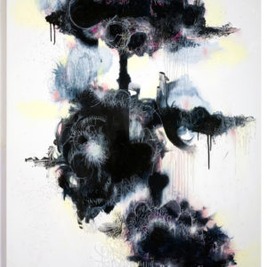 Cloud's-foams-stitched-together-Blandine-Bardeau-saatchi-art-ethereal-acrylic-painting