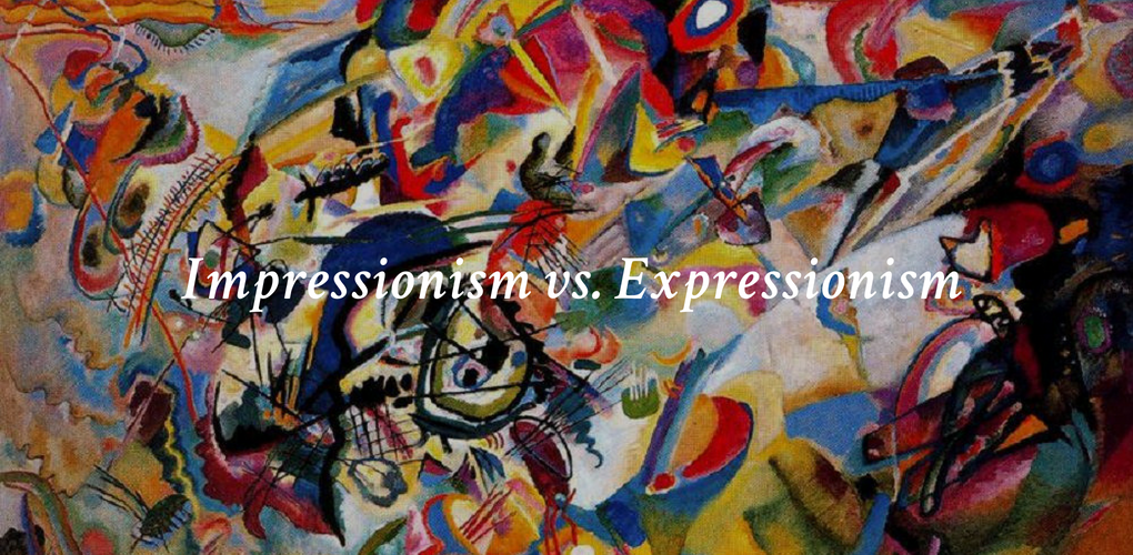 Impressionism vs  Expressionism – Canvas: A Blog By Saatchi Art