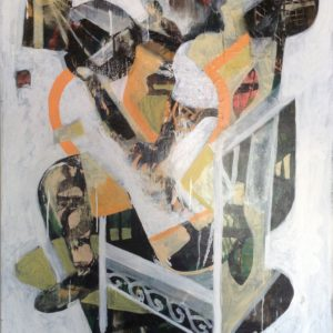 Goal-Celebration-eric-white-saatchi-art-abstract-painting