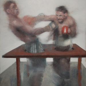 boxers-Nicola-Pucci-saatchi-art-figurative-painting