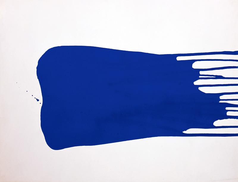 international klein blue canvas a blog by saatchi art. Black Bedroom Furniture Sets. Home Design Ideas