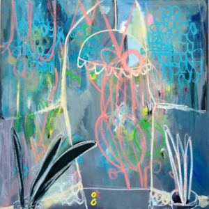 Emma-Tingård-take-a-look-outside-saatchi-art-abstract-pink-blue-painting