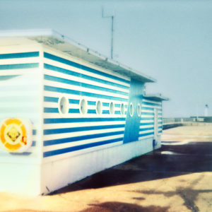 La-station-SNSM-Edition-of-8-Gérard-Staron-saatchi-art-color-polaroid-photography