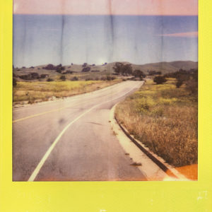 ROAD-Yasma-Alkoraishi-saatchi-art-yellow-polaroid-photography