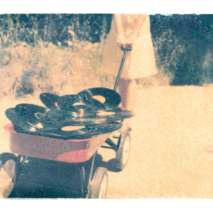 Records-in-Wagon-Matt-Schwartz-saatchi-art-polaroid-aluminum-photography